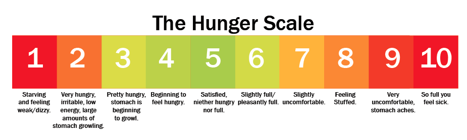 Sthe hunger scale