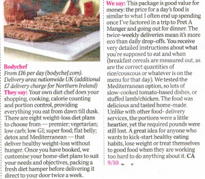 The Times: 'The Jury' reviews Bodychef